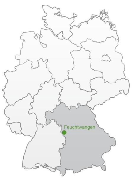 Stadt Feuchtwangen Druckversion Anfahrt Lage